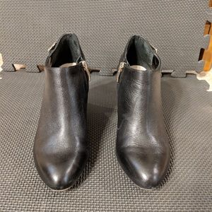Vince Camuto black booties